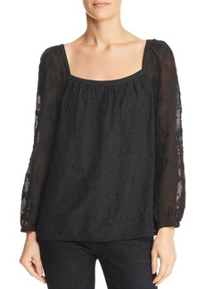 Rebecca Taylor Kyla Embroidered Top