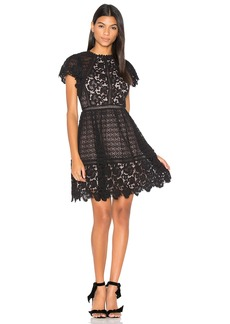 Rebecca Taylor Lace Mix Dress