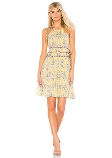 Rebecca Taylor Lemon Rose Dress