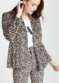 Rebecca Taylor Leopard Blazer