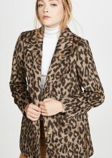 Rebecca Taylor Leopard Coat