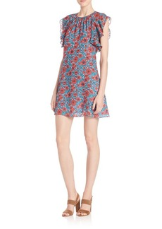 Rebecca Taylor Lindsay Ruffle Dress