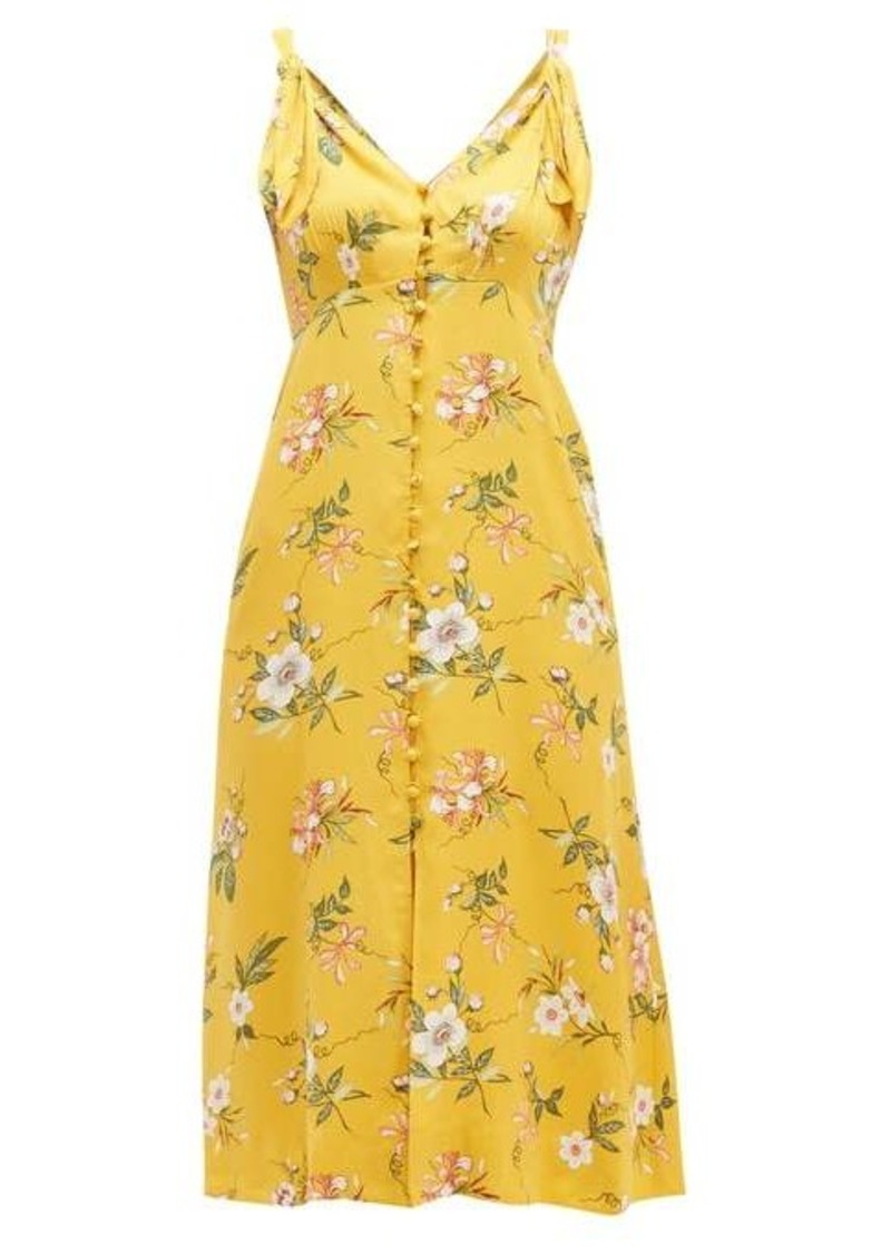 Rebecca Taylor Lita floral-print silk-blend dress