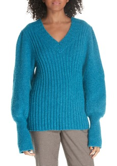 Rebecca Taylor Lofty Alpaca Wool Blend Sweater