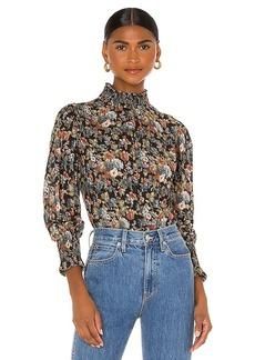 Rebecca Taylor Long Sleeve Petit Zinnia Blouse