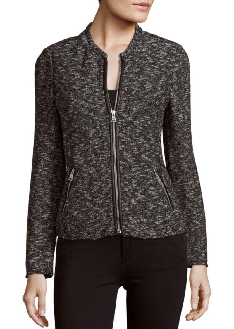 Rebecca Taylor Long Sleeve Zippered Jacket
