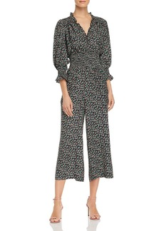 Rebecca Taylor Louisa Floral-Print Silk Jumpsuit