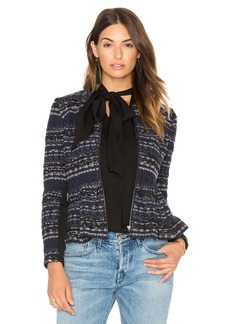 Rebecca Taylor Lurex Tweed Jacket