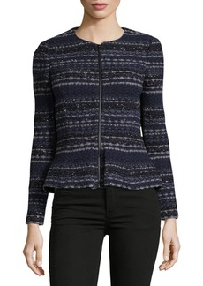 Rebecca Taylor Lurex Tweed Jacket