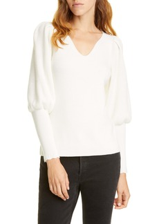 Rebecca Taylor Luxe Merino Wool Sweater