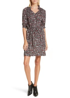 Rebecca Taylor Lyra Floral Silk Dress