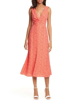 Rebecca Taylor Malia Twist Front Dress