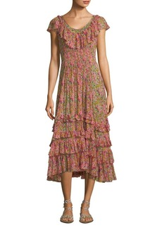 Margo Ruffle Dress