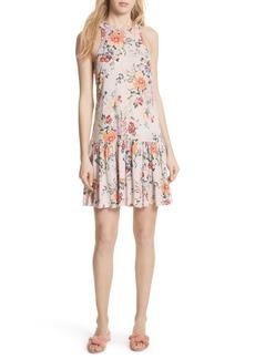 Rebecca Taylor Marlena Floral Jersey Dress