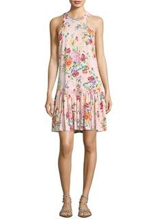 Marlena Floral Linen Jersey Dress