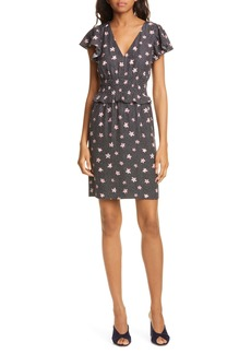 Rebecca Taylor Maui Floral Silk Blend Dress
