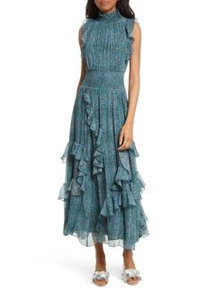 Rebecca Taylor Minnie Floral Maxi Dress