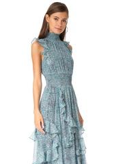 Rebecca Taylor Minnie Fl Maxi Dress