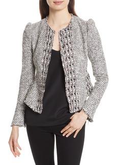 Rebecca Taylor Mixed Tweed Jacket