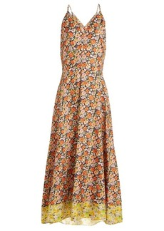 Rebecca Taylor Moonlight Garden floral-print silk dress