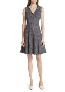 Rebecca Taylor Multi Tweed Fit & Flare Dress