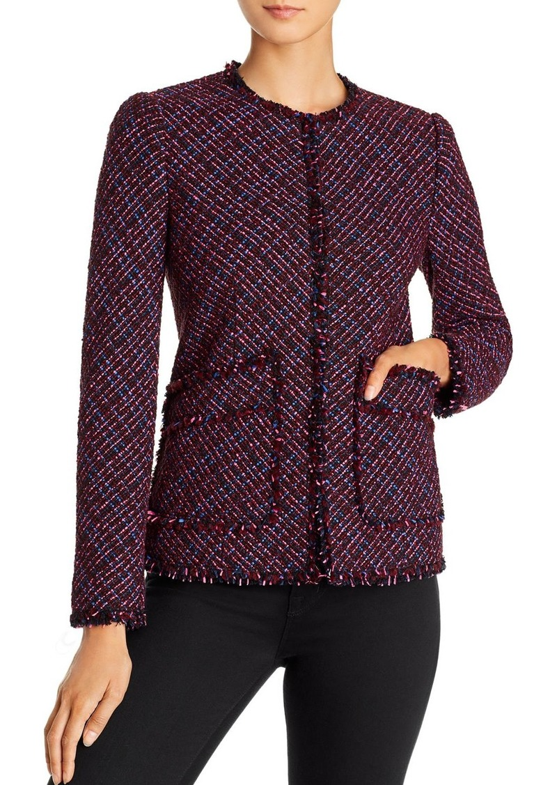 Rebecca Taylor Multi Tweed Jacket