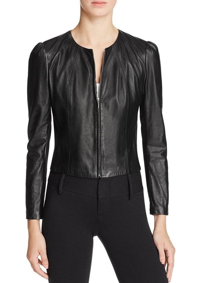 Rebecca Taylor Nappa Leather Jacket