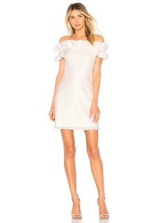 Rebecca Taylor Off Shoulder Slub Dress