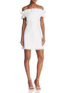 Rebecca Taylor Off-the-Shoulder Dress