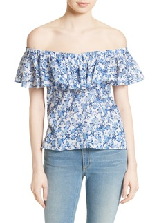 Rebecca Taylor Off the Shoulder Top
