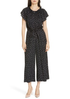 Rebecca Taylor Painted Dot Jumpsuit