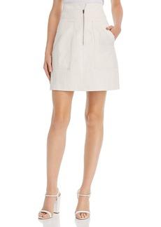 Rebecca Taylor Pinstriped Mini Skirt
