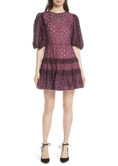 Rebecca Taylor Pinwheel Eyelet Dress