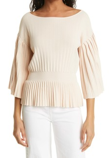 Rebecca Taylor Pleated Sweater