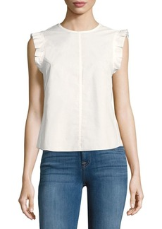 Rebecca Taylor Poplin Cotton Top