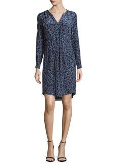 Rebecca Taylor Printed Silk Shift Dress