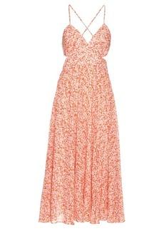 Rebecca Taylor Provence-print cotton-voile maxi dress
