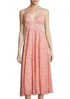 Rebecca Taylor Provence Sleeveless Maxi Dress