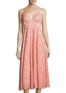 Rebecca Taylor Provence Sleeveless Maxi Dress