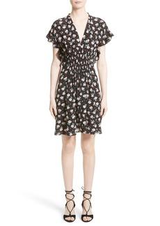 Rebecca Taylor Rosalie Floral Smocked Dress