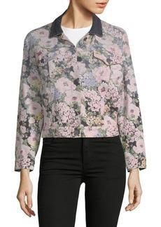 Rebecca Taylor Rose Floral Jacket