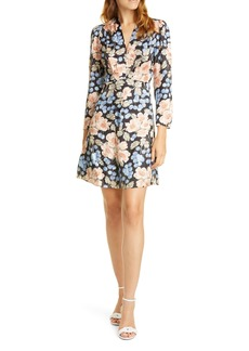 Rebecca Taylor Rose Long Sleeve Minidress