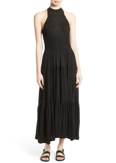 Rebecca Taylor Ruched Jersey Maxi Dress