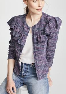 Rebecca Taylor Ruffle Jacket