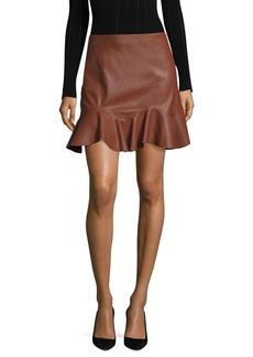 Rebecca Taylor Ruffled Hem Skirt