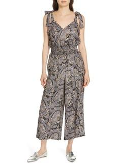 Rebecca Taylor Selene Paisley Silk Jumpsuit