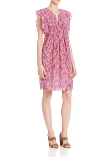 Rebecca Taylor Shibori Silk Dress