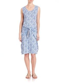 Rebecca Taylor Shibori Wrap Dress