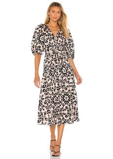 Rebecca Taylor Short Sleeve Kaleidoscope Dress