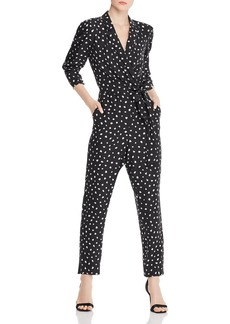 Rebecca Taylor Silk-Blend Cheetah-Print Jumpsuit